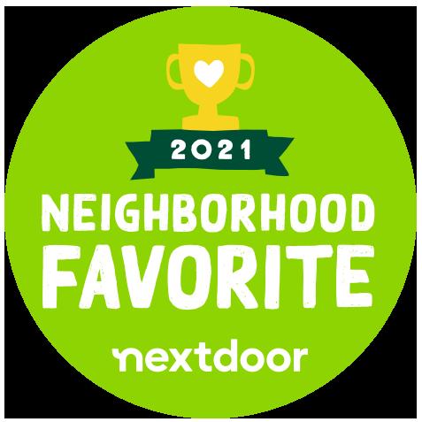 nextdoor sticker